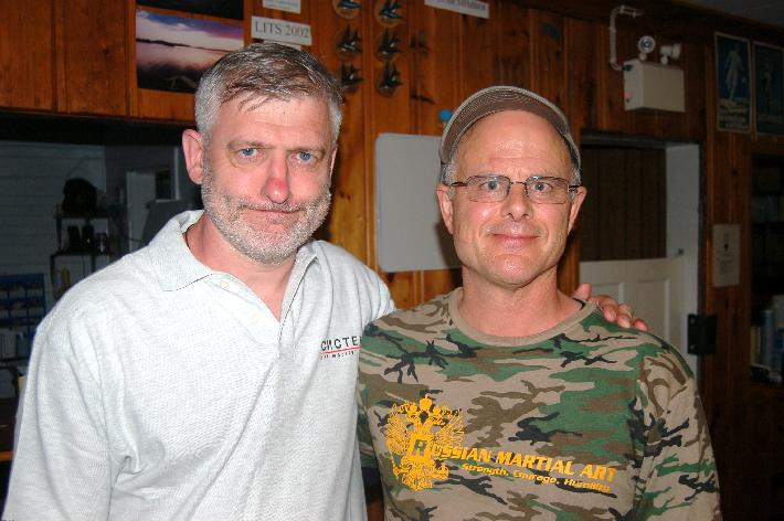 Valentin Vasiliev and Robert Burke, Immersion Summer Camp 2008, Canada